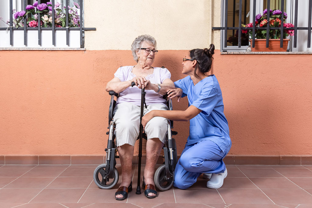 Caretruly Healthcare Worker in assistance